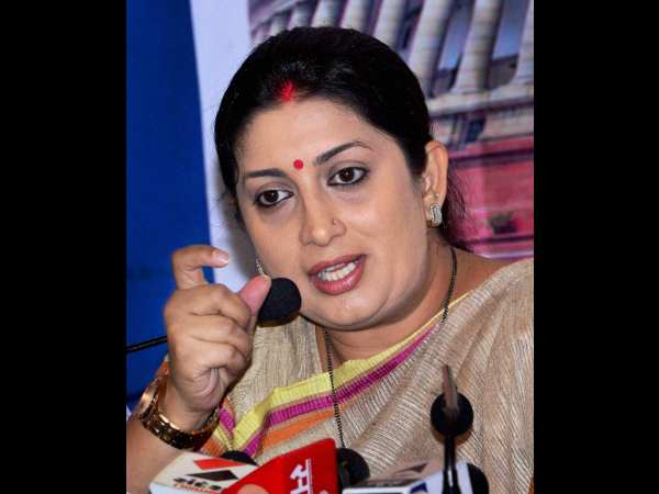 Smriti Irani Expresses Grave Concern over Incident