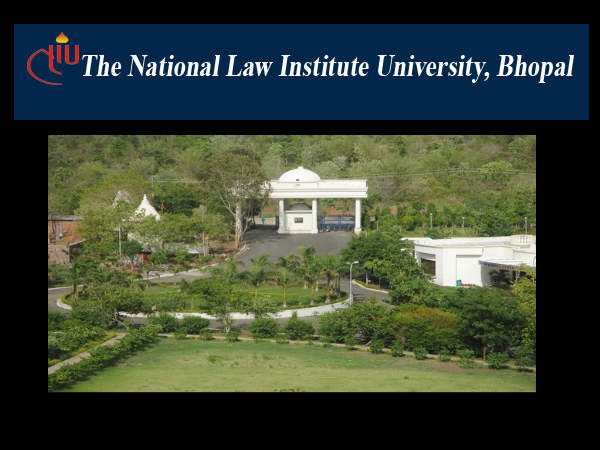 NLIU, Bhopal, offers  PGD in Cyber Law admissions