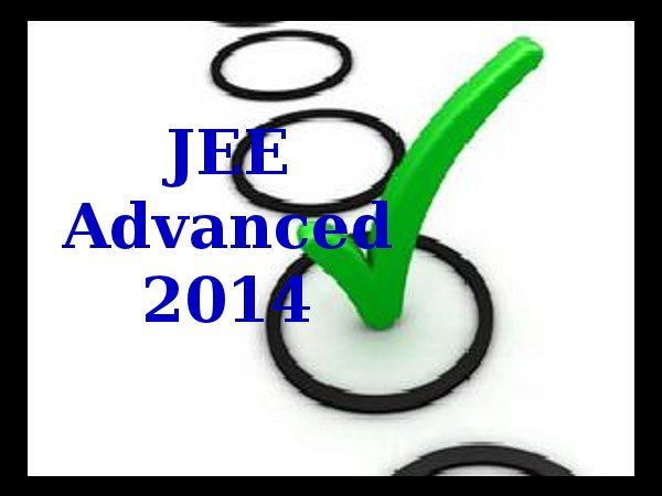 JEE Advanced 2014 Answer Keys Remain The Same