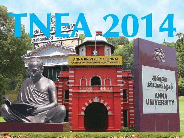 TNEA 2014 Counselling Dates