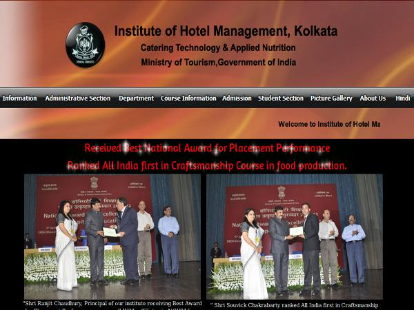 Institute of Hotel Management, Kolkata