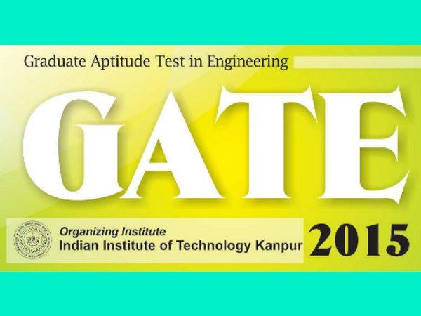 GATE 2015 online registration from Sept 1
