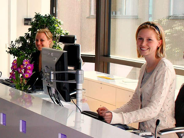To be a Receptionist