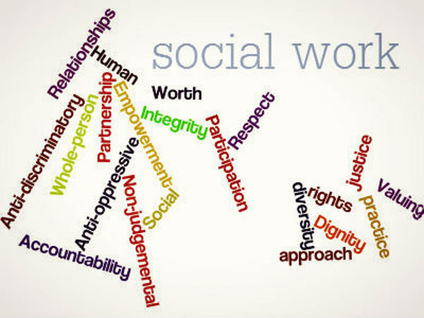 The practice of social work community