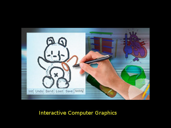 Online course on Interactive Computer Graphics