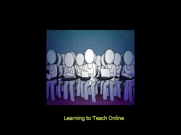 Online course on learning to teach online