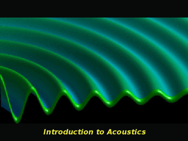 Introduction to Acoustics online course
