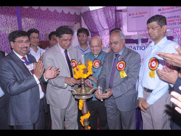 Lamplighting ceremony of ICSE Faridabad House event