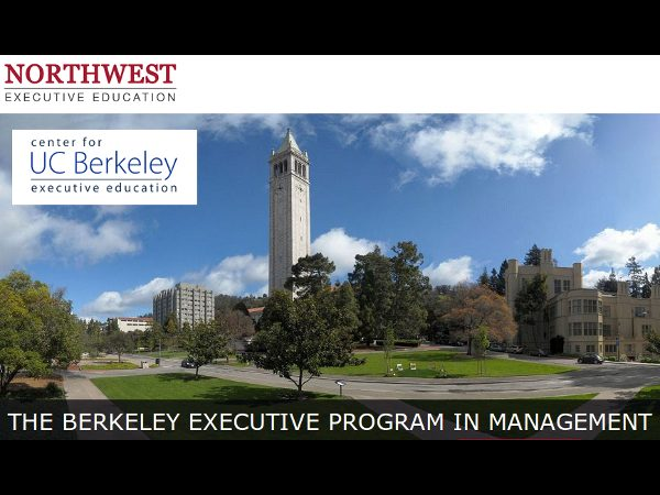 UC Berkeley Executive Program in Management Launch
