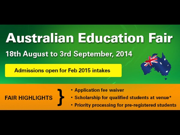 Australian Education Fair 2014 in India