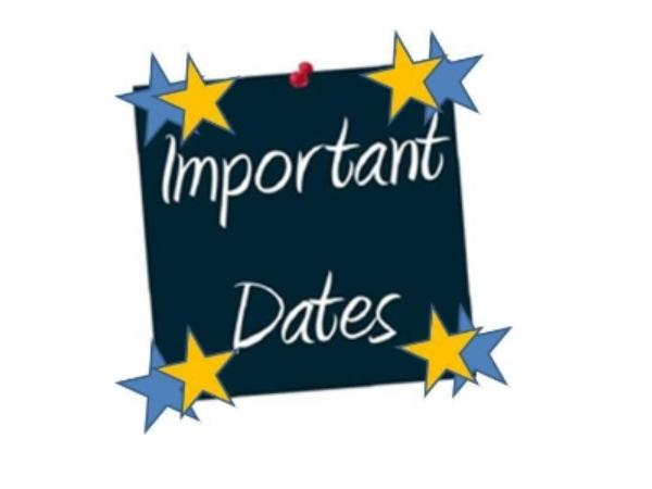 <strong>Important Dates of SNAP 2015</strong>