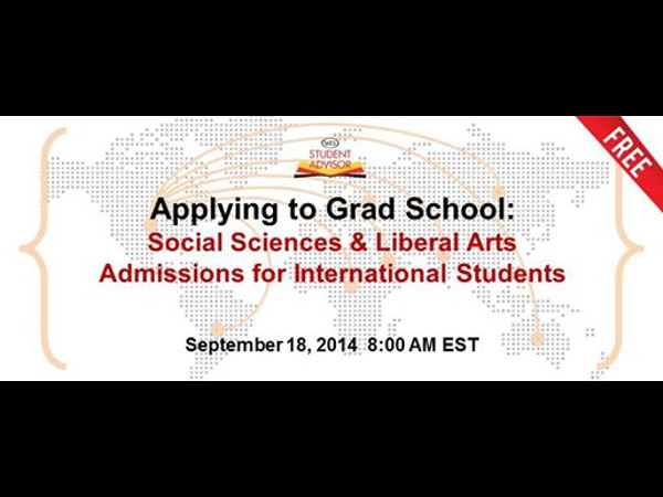 Free Webinar: Applying to Grad Schools in the US