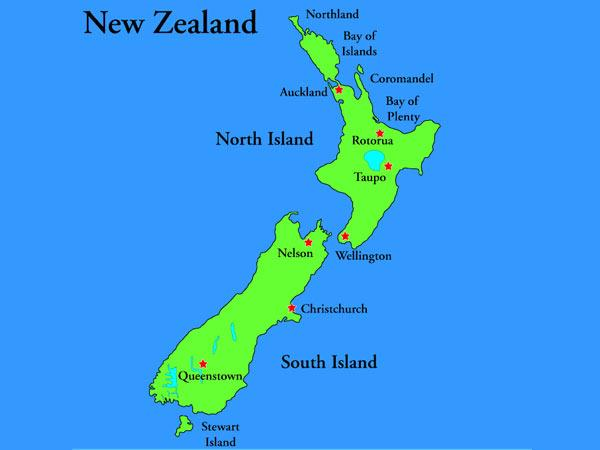 New Zealand a popular study abroad destination