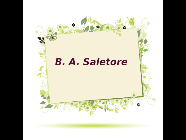 B. A. Saletore