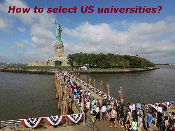 How to select US universities?