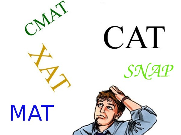 CAT, XAT, MAT, CMAT scores for MBA and PGDM