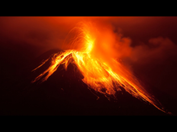 Online course on Volcanic eruptions