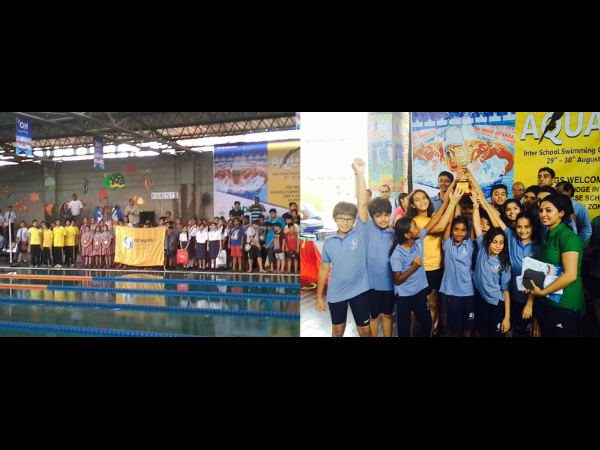 Pathways School - Inter School Swimming Champions