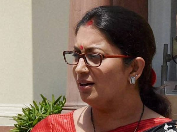 IITs ranked higher than Harvard: Smriti Irani