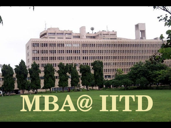 New MBA syllabus for IIT Delhi