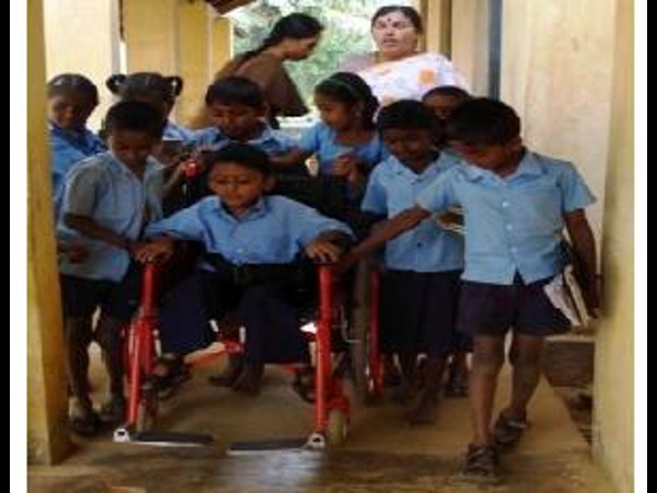 Convention on free education for disabled children