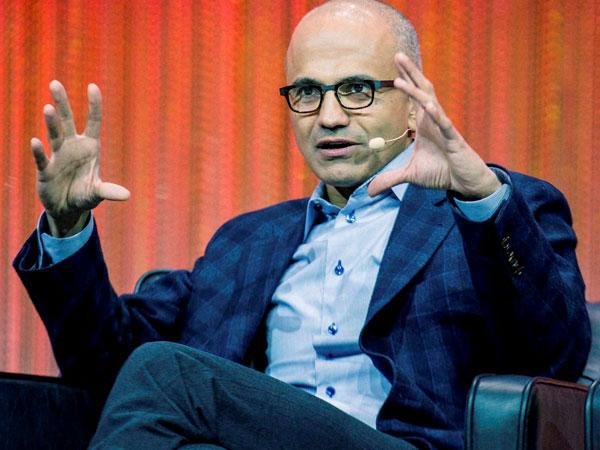 Fall in love with what you do: Satya Nadella