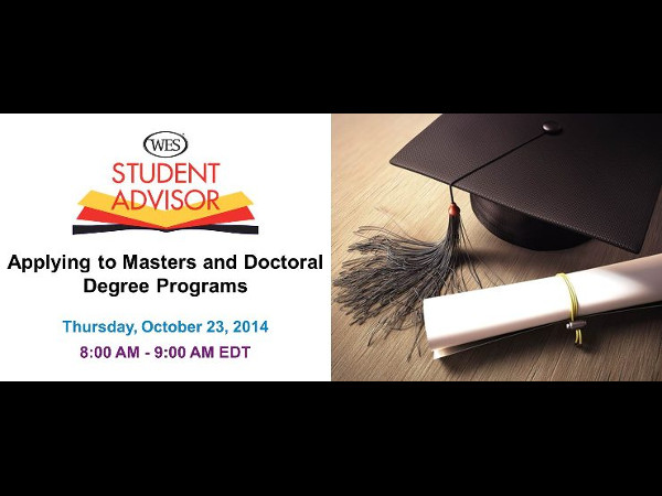 Free Webinar: Applying to Masters and Doctoral