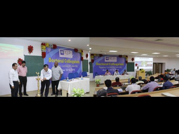 "XLRI organises ""XLRI Doctoral Colloquium 2014"""