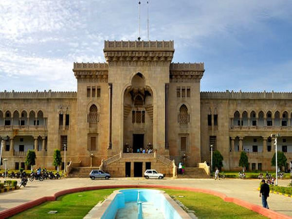 Medical courses admission at Osmania University