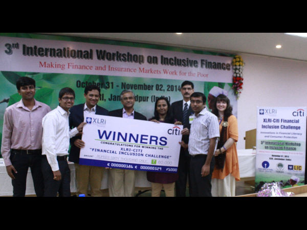 The team from IRMA was adjudged winner of the competition.