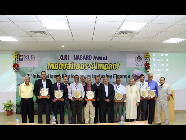 XLRI-NABARD 'Innovations4Impact Award' Presentation was also organised at the workshop.