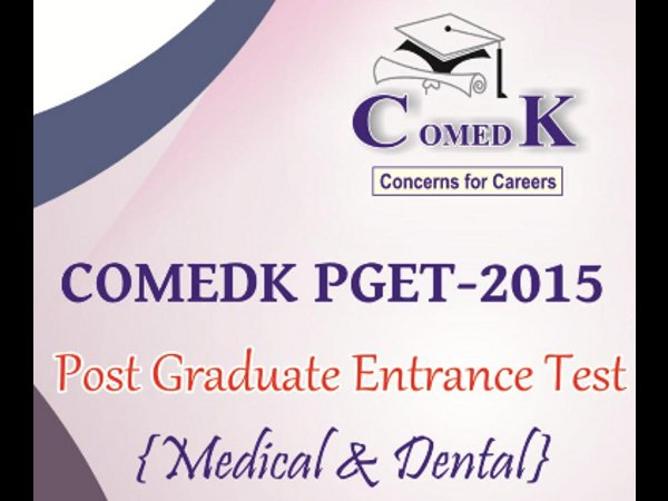 ComedK PGET 2015 Important Dates