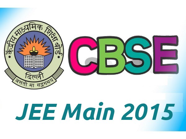 JEE Main 2015 Time Table