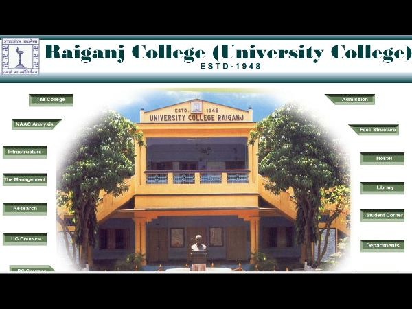 Raiganj college to a new university