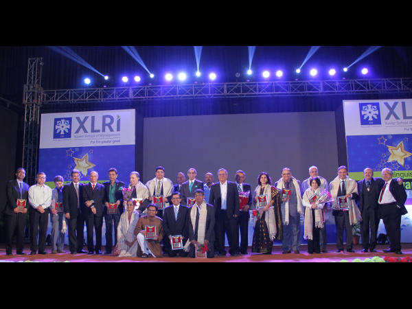 XLRI felicitates its distinguished alumnus