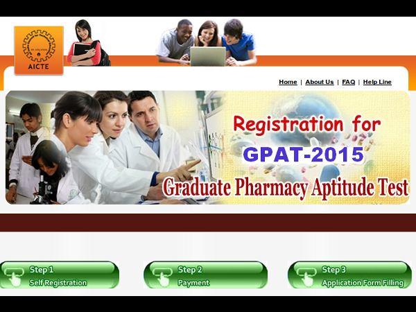 GPAT 2015 online registration starts