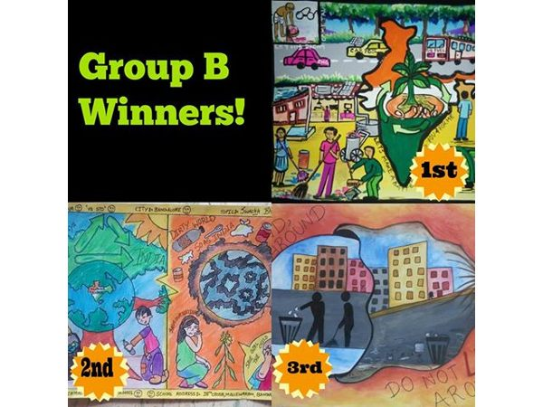 Oneindia Drawing Competition Winners
