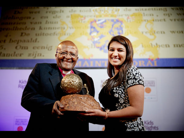 Indian American wins Peace Prize