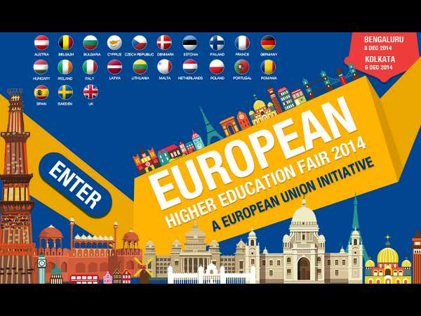 European Education Fair at Bangalore on Dec 03