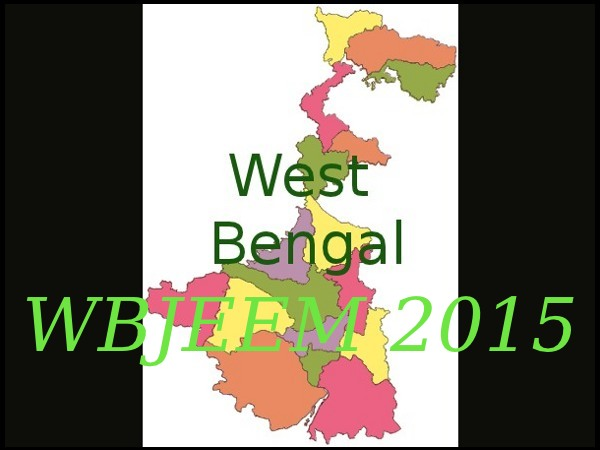 WBJEEM 2015 Online Application Form Available