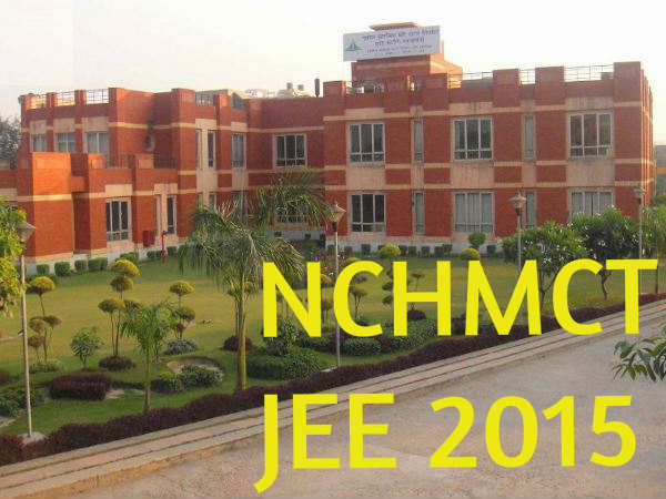 NCHMCT JEE 2015 Exam Pattern