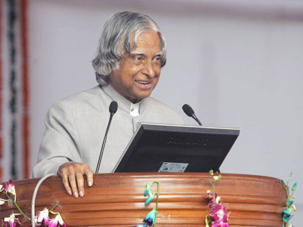 Abdul Kalam interacts with students