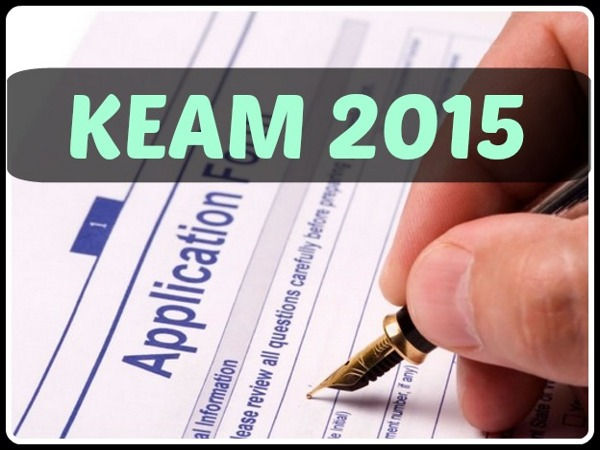 KEAM 2015 online application form procedure