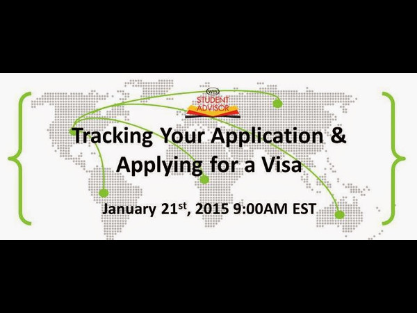 Tracking your Application & Applying for Visa