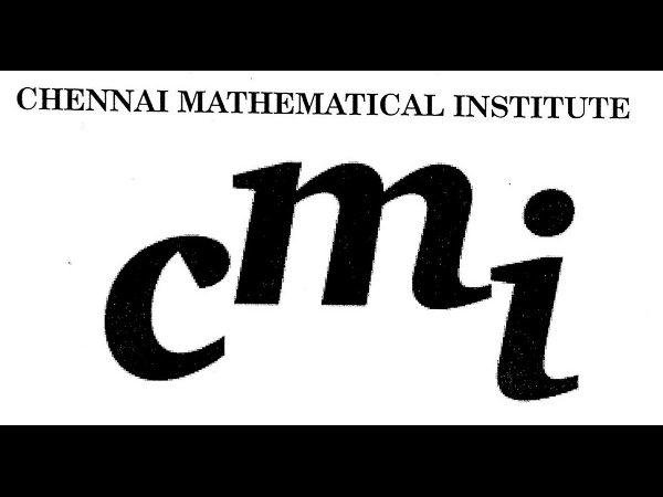 Chennai Mathematical Institute offers admissions