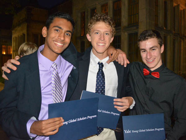 Yale Young Global Scholars Program: Applications