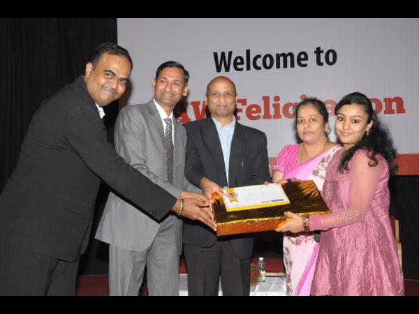 Bengaluru students honored: IAW felicitation