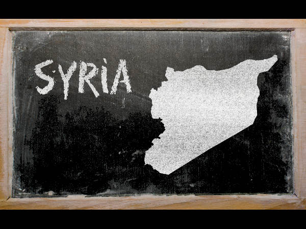IS distributes educational material in Syria
