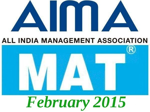 MAT February 2015 results are out