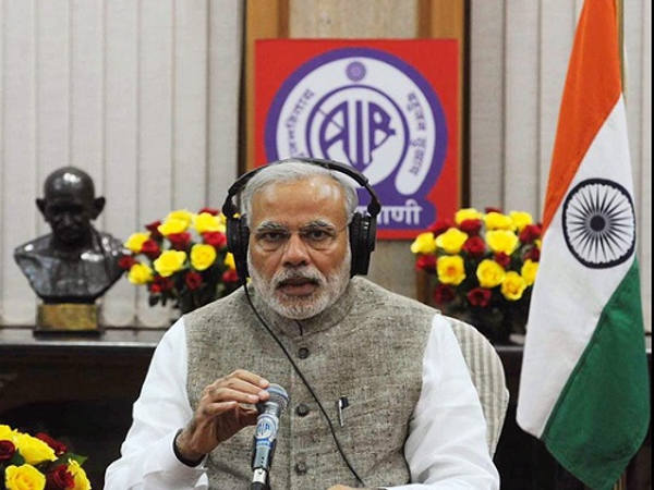 Modi lauds girls for doing well in exams